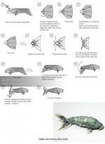 Easy! Dollar origami instructions