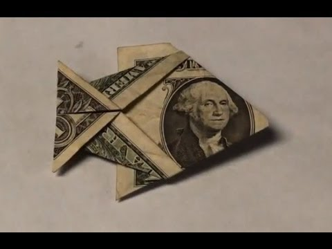 One easy money origami
