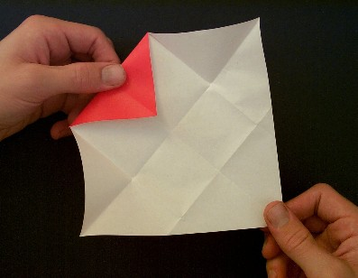 Easy folding origami