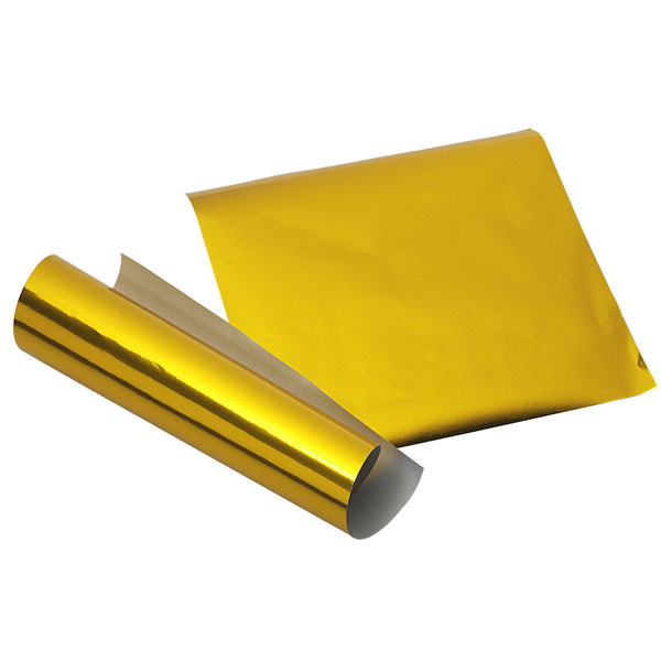 Flashy gold origami paper