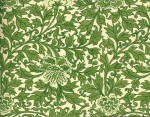 Leafy green origami paper