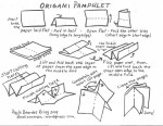 Study how to make an origami book