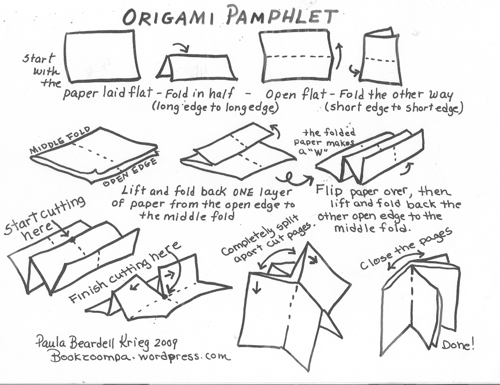 study how to make an origami book 2018