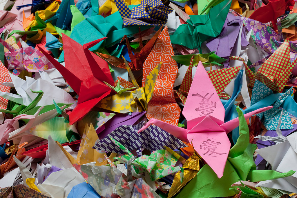 Fine how to make an origami crane