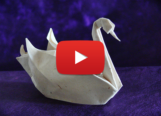 How to make an origami swan