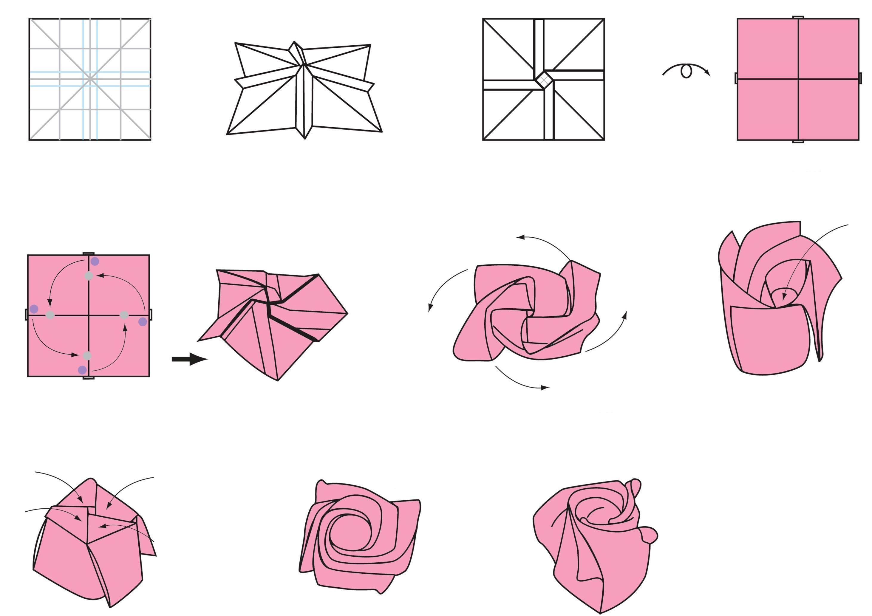 This is how to make an origami