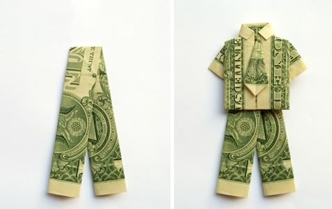 Shorts how to make money origami