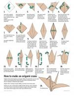 Hmm.. how to make origami crane