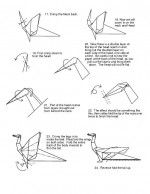 Learn how to make origami dragon