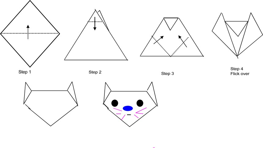 How to make origami for kids