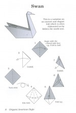 Learn how to make origami swan