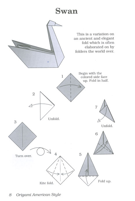 learn how to make origami swan 2018