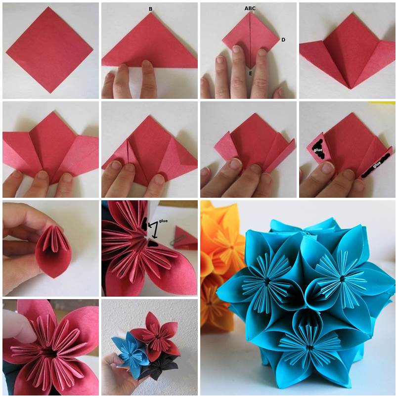 Fast how to make origamis