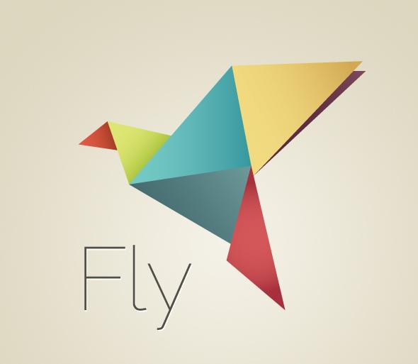 Design origami bird