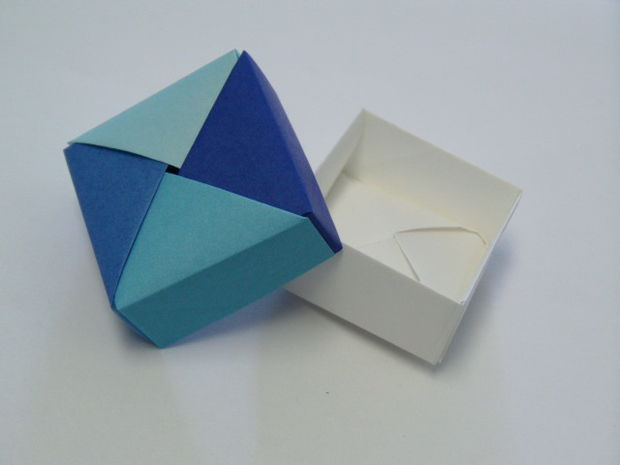 Useful origami boxes