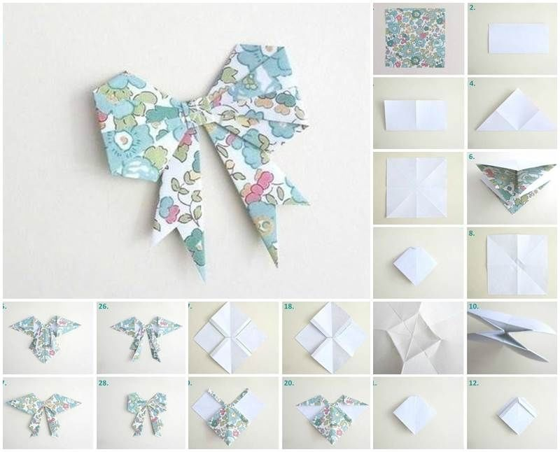 Unique origami butterflies