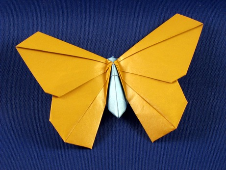 Excellent origami butterfly