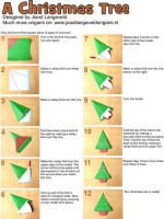 Marvelous origami christmas decorations