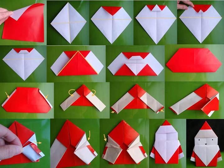 Fair origami christmas