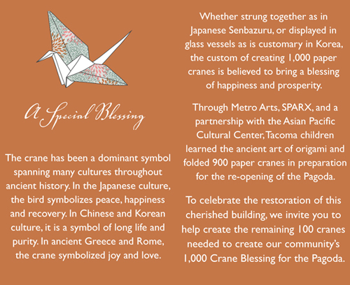 Understand origami crane meaning