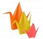 Magnificient origami cranes