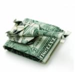 Great origami dollar bill