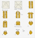 Learn able origami folding instructions
