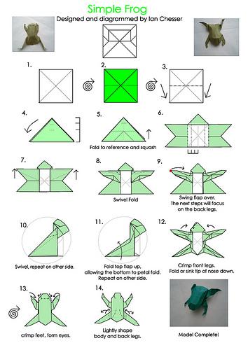 Ravishing origami folds