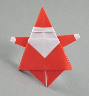 Cute origami for christmas