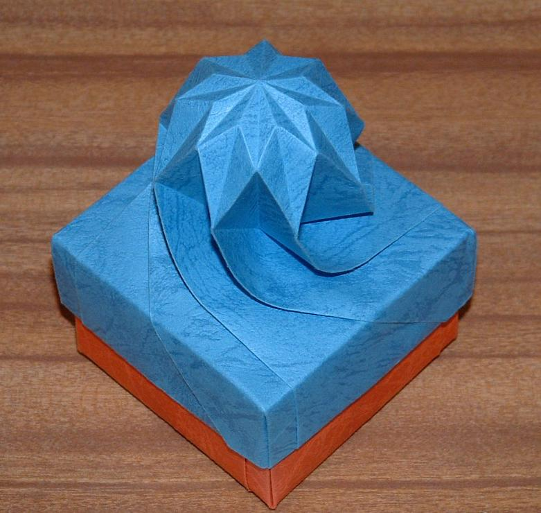 Cool origami gift box