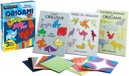 Complete origami kits for kids