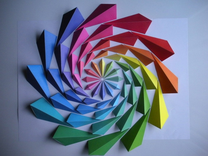 Awesome origami paper art