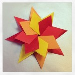 Bright! origami paper craft