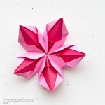 Delicate Origami Flower