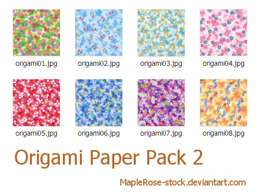Great origami paper online