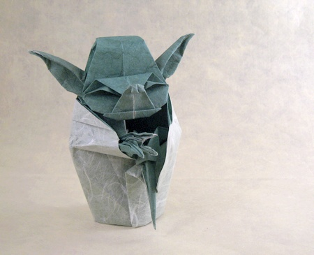 Cute origami star wars