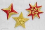 Check this! Origami stars