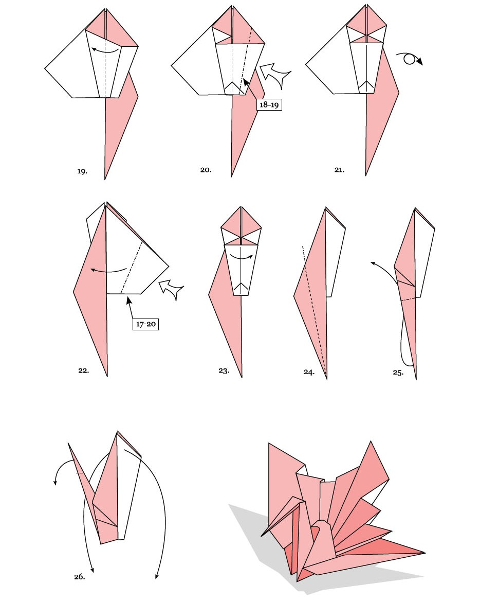 Origami Money Flapping Bird