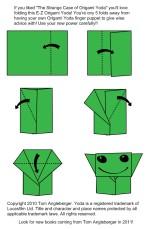 Dazzling origami yoda instructions