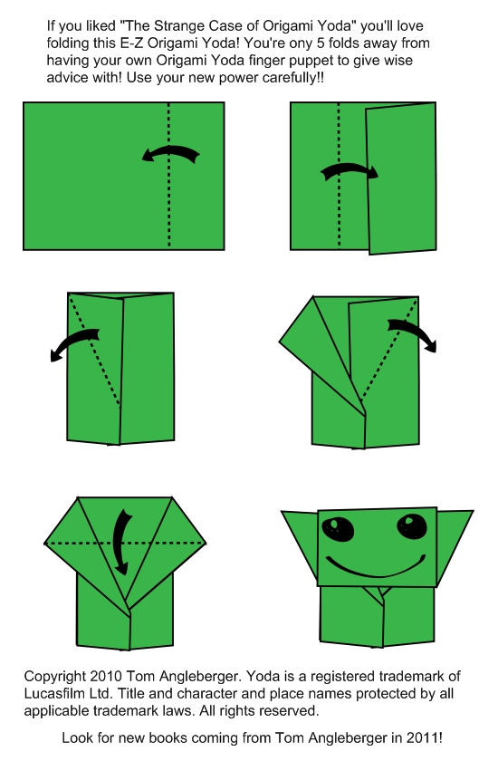Envelope folding instructions how to make an easy origami envelope - Dazzling Origami Yoda Instructions 2016
