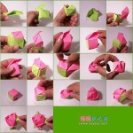Nice paper origami rose