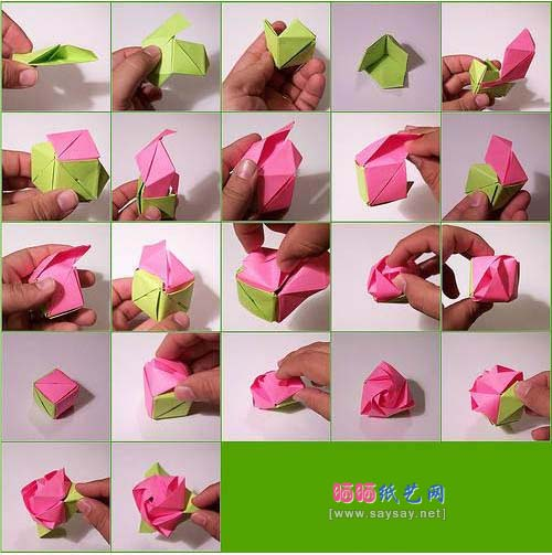 Related easy money origami instructions for kids easy money origami - Nice Paper Origami Rose 2016