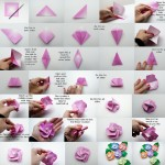 Advance paper rose origami