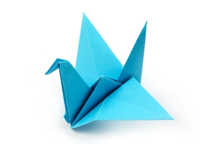 Traditional Crane Origami