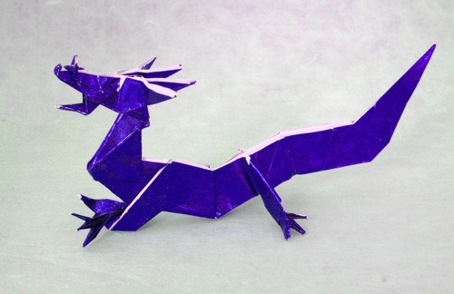 Chinese Dragon Origami