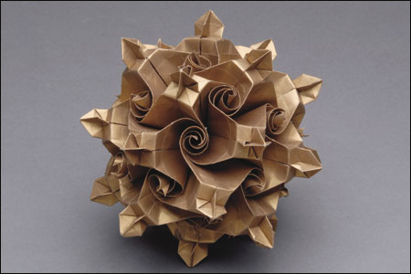 Remarkable Folded Paper Art