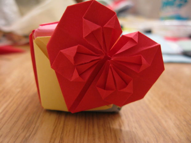 Decorative Heart Origami
