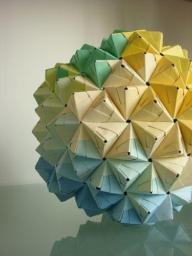 Big Origami Ball