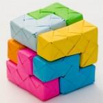Tetris Origami Paper Craft