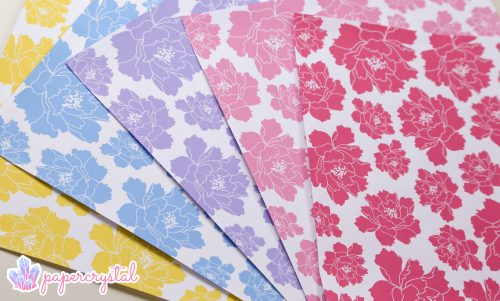 Crystal Origami Paper Patterns